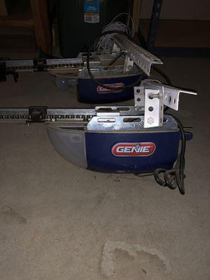 2 Genie Garage Door Openers Model 1022 for Sale in Fresno, CA