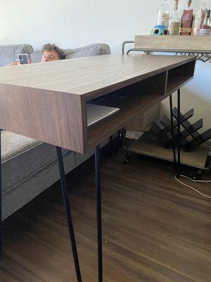 Desk modern wood for Sale in Coronado, CA
