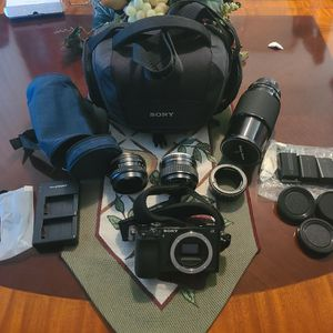 Sony A6000 Mirrorless Camera With Accessories for Sale in Portland, OR