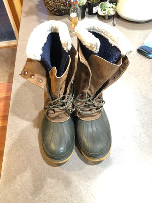 Felt lined work boots. Size 10 for Sale in Arlington, WA