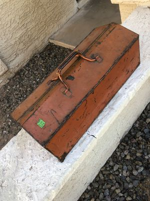 Vintage Rare Tool Box for Sale in Gilbert, AZ