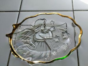 Mikasa Christmas Trumpet Angel Candy Dish for Sale in Norwalk, CA
