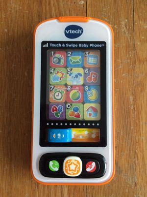 VTech Touch and Swipe Baby Phone, Orange for Sale in San Diego, CA