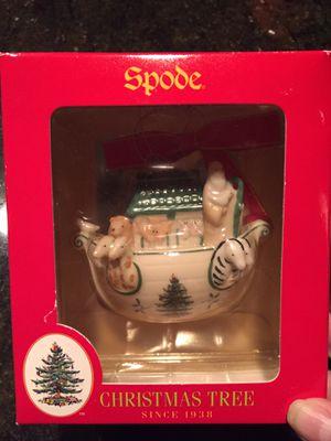 SPODE Noah's Ark Christmas Ornament for Sale in Bellevue, WA