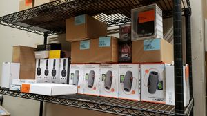 Assorted audio equipment. Wireless headphones. Speakers. And more. From companies such as, Jbl, Skullcandy, Heyday, anker, altec lansing, and sony for Sale in Bakersfield, CA