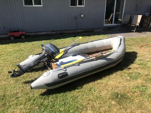 Achilles inflatable boat Wooden floor for Sale in Vancouver, WA