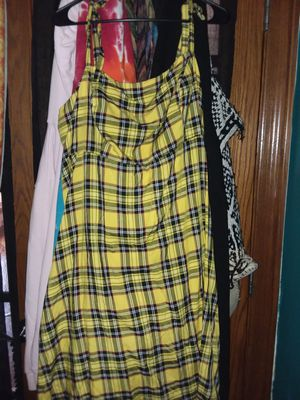 Yellow Plaid dress for Sale in Mokena, IL