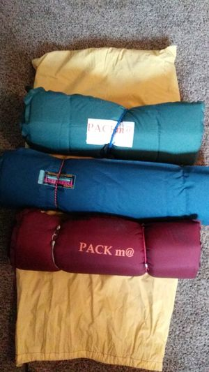 3 camping pads, auto fill up with air for Sale in Vancouver, WA