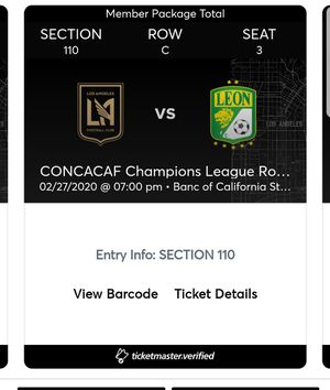 Los Angeles Football club tickets for Sale in Los Angeles, CA
