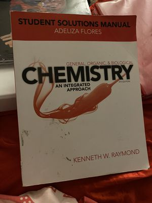 Chemistry students solutions manual for Sale in Winchester, CA