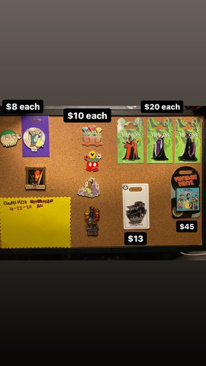 Disney pins for Sale in Alhambra, CA