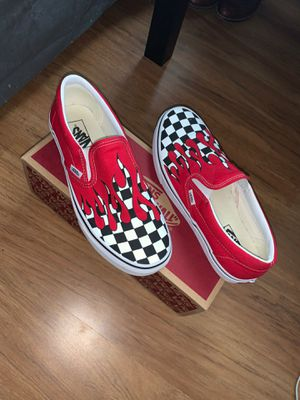 Vans checkered fire for Sale in Round Rock, TX