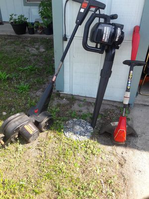 Edger blower and a weed eater GOOD CONDITION. 165 for Sale in Orange Park, FL
