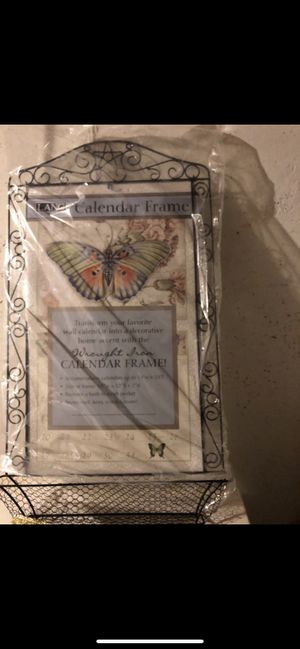 Butterfly Calendar/ room decor for Sale in Dearborn, MI