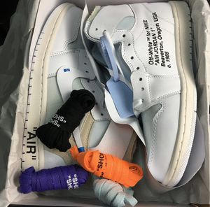off white jordan 1 for Sale in Rancho Cucamonga, CA