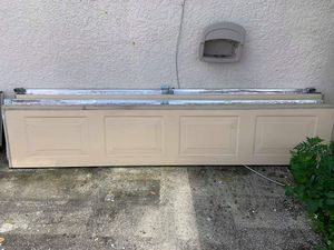 7×7 garage door with all hardware for Sale in Bartow, FL