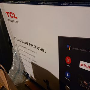 """65"""" TCL TV UNOPENED NEVER USED for Sale in Cedar Hill, TX"""