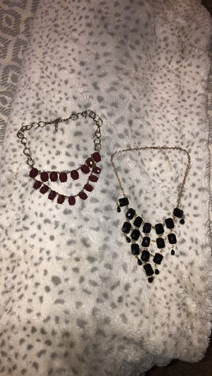 Charming Charlie statement necklaces for Sale in Wichita, KS