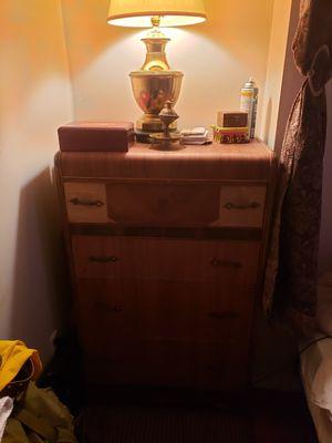 Antique 5 drawer dresser for Sale in East Hartford, CT