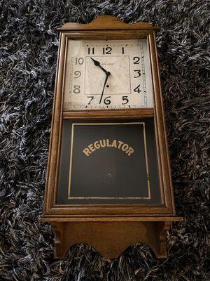 1929 Antique Regulator Wall Clock - Complete for Sale in Tempe, AZ
