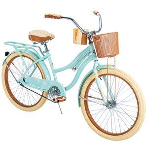 "Huffy 24"" Nel Lusso Girls' Cruiser Bike, Mint Green for Sale in Orlando, FL"