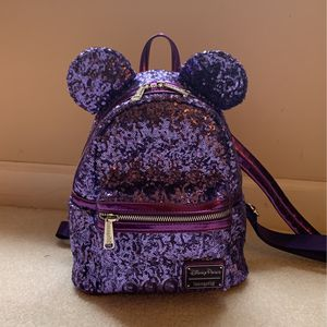 Disney Loungefly Purple Potion Mini Backpack for Sale in Chesapeake, VA
