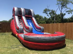 15 ft tall 28 ft long. Water slide for Sale in Cedar Hill, TX