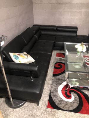 Black sectional for Sale in Fort Myers, FL