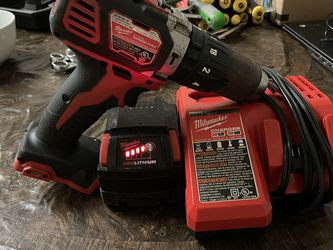 Milwaukee Drill Battery And Charger Dewalt Grinder Hyper Tough Saw Zaw And Drill With Chargers And 2 Batteries And Many Hand Tools And Tool Box for Sale in Pasadena,  MD