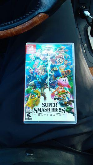 Nintendo switch Super Smash Bros for Sale in Sacramento, CA