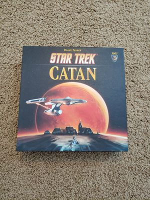 Star Trek Catan board game used, like new for Sale in Washington, PA