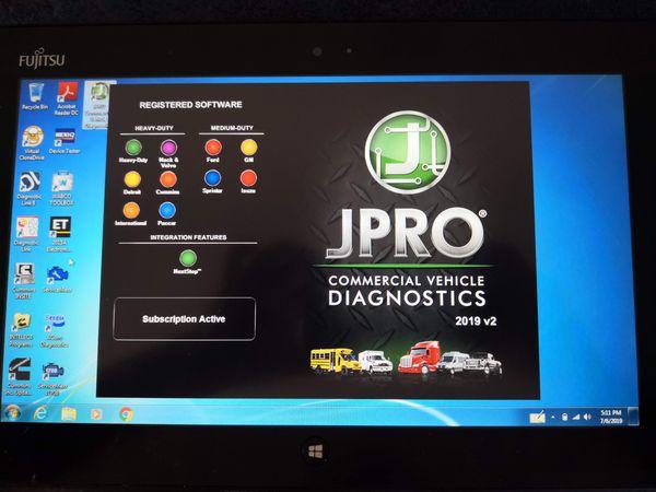 Jpro Diesel Diagnostics 2019