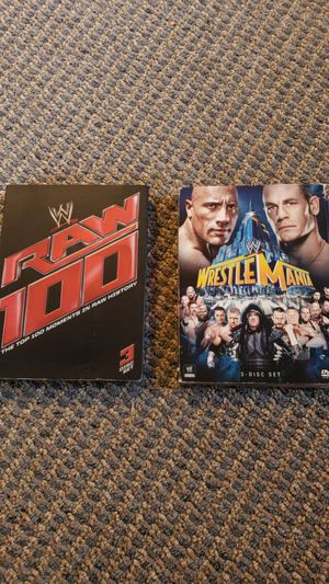 WWE 3 disc DvDs for Sale in Saint Cloud, FL