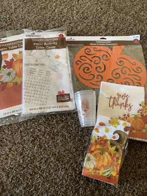 Thanksgiving decorations for Sale in Middleburg Heights, OH