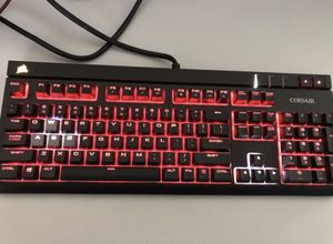 Corsair Mechanical Keyboard + 12k Corsair gaming mouse for Sale in Tampa, FL