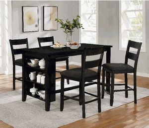 Counter height dining table with kitchen shelves for Sale in Long Beach, CA