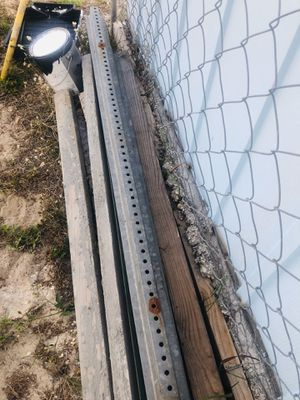 Steal metal 8' post for Sale in Haines City, FL