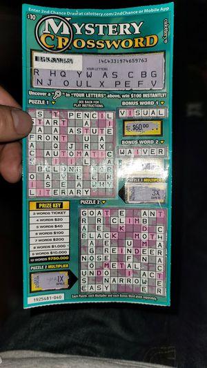 Scratcher $4000 winner for Sale in Huntington Beach, CA