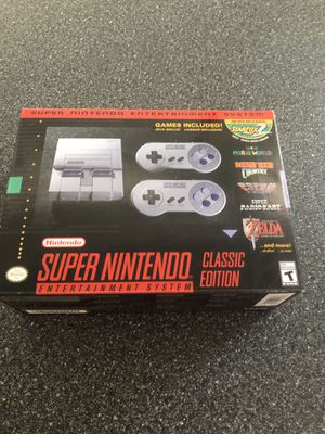 Mini super Nintendo mini classic for Sale in West Bloomfield Township, MI