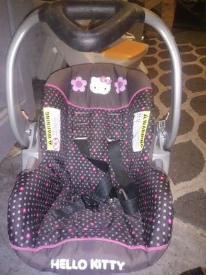 Hello Kitty car seat for Sale in Rockford, IL