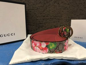 Gucci Pink Blooms Belt *Authentic* for Sale in Queens, NY