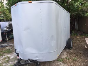 6' x 12' Enclosed Trailer for Sale in Margate, FL