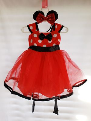 18-24 month Minnie dress with headband for Sale in Ocala, FL