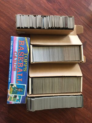 Baseball cards 5 boxes for Sale in Tustin, CA