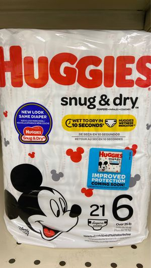 Huggies diapers size 6 for Sale in Fort Worth, TX