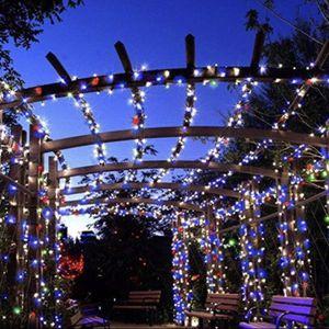 200 LED solar copper wire string decorative garden lamp party lamp fairy light - Multi Color for Sale in Ontario, CA