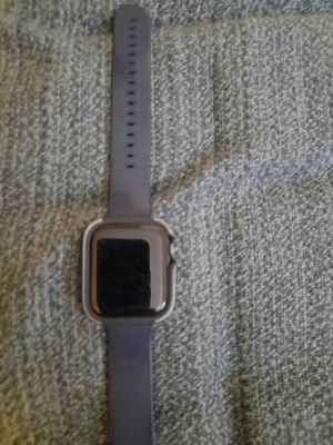 Apple Watch Sport 4 7000 series.. have box, case charger,protective shock cover, unlocked, but it from Apple store. for Sale in Linthicum Heights, MD