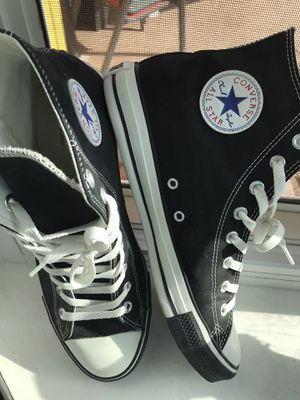 Chuck Taylor converse all star authentic hightop size 10 men's $ 50firm new for Sale in Fresno, CA