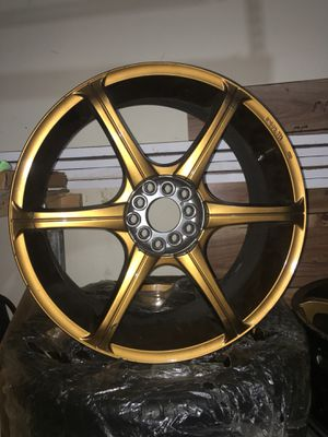 Konig 19x8 19x8.5 staggered wheels universal lug for Sale in Silver Spring, MD