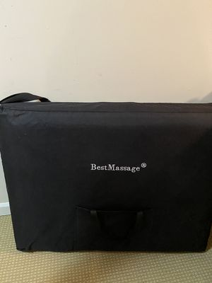 Massage table, almost new for Sale in Seattle, WA